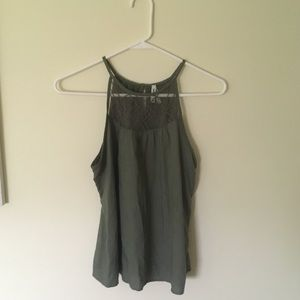 Halter neck tank top